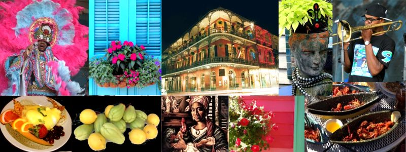 Collage of New Orleans