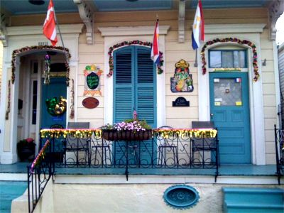 La Dauphine bed and breakfast, French Quarter, New Orleans